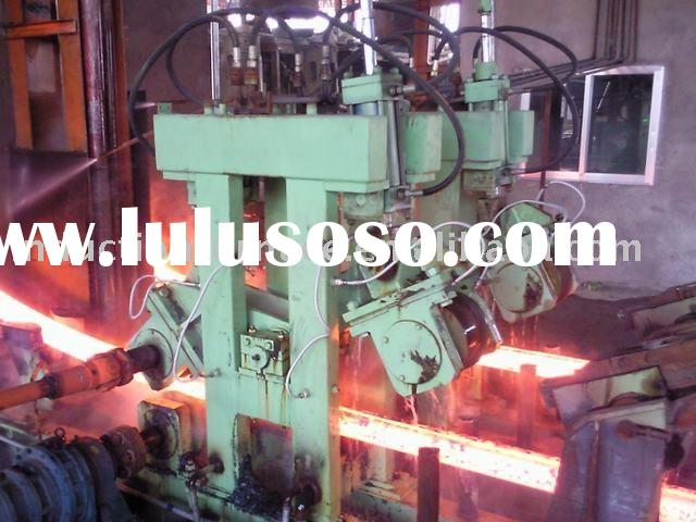 Continuous casting machine steel billets casting