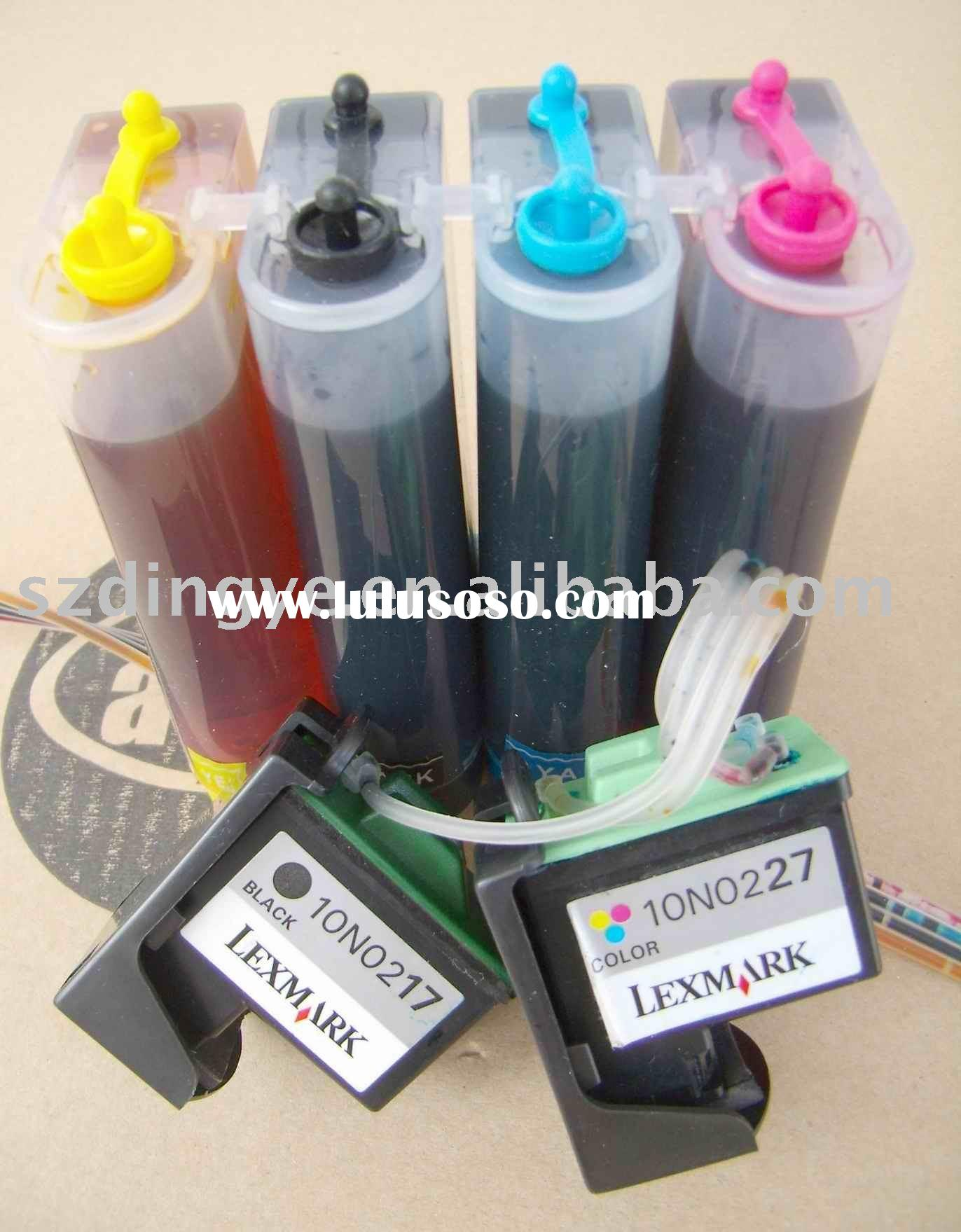 Continuous supply ink system ciss for lexmark 17/27