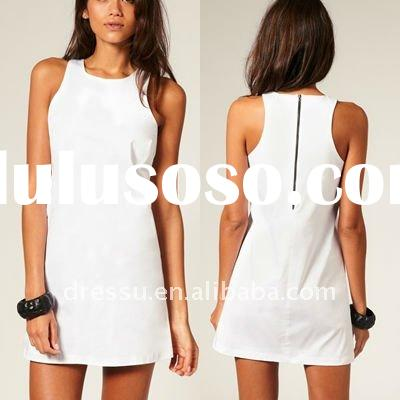 Cotton Dress New Fashion, Ladies Casual Dresses Pictures