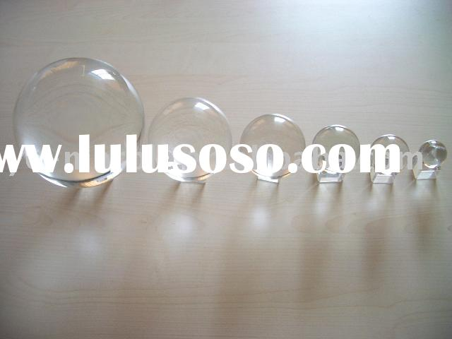 Crystal Clear Glass Marbles