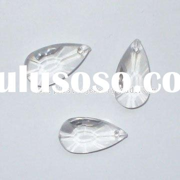 Crystal diamond, crystal teardrop pendant, chandelier teardrop prism
