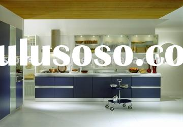 Culture White Marble Countertop with UV-Kitchen Cabinet for Australia