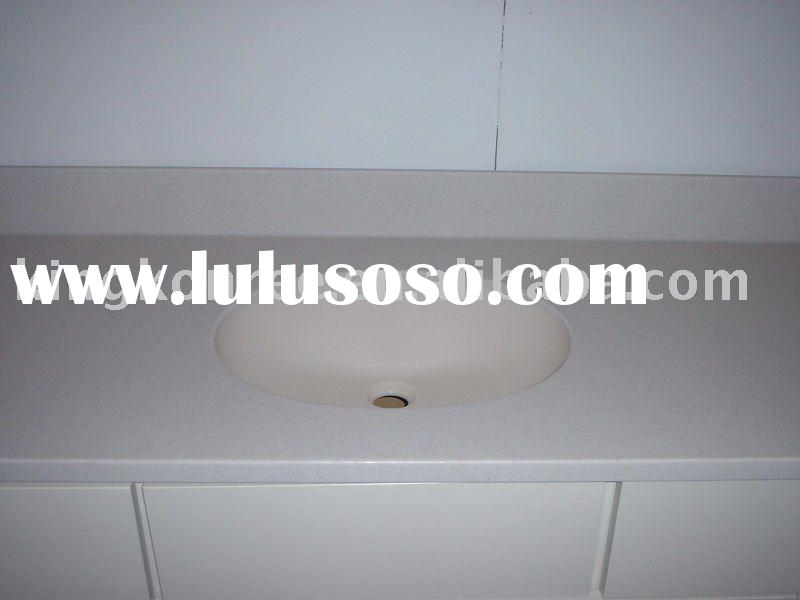 Custom size Manmade Culture marble bathroom vanity top (KKR)