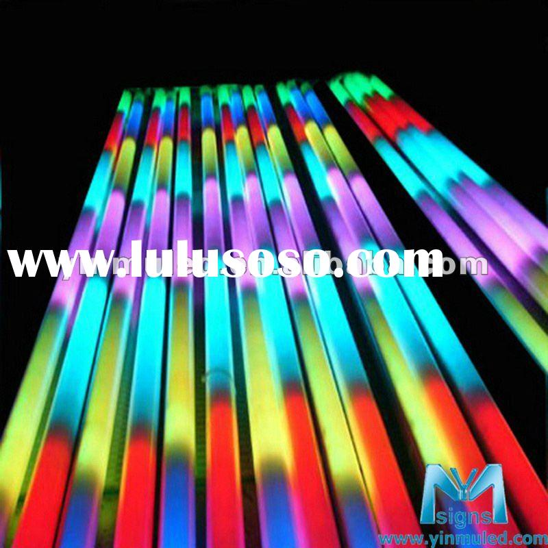 DC12V RGB led digital tube dmx
