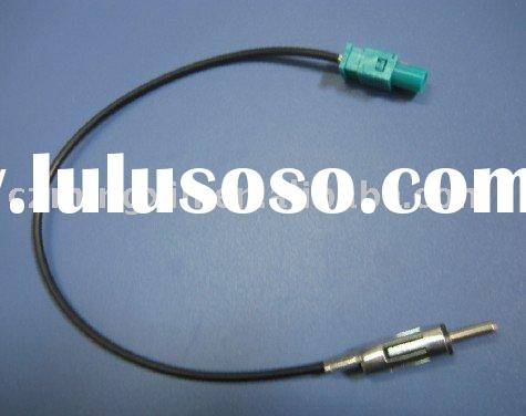 DIN RG174 cable car antenna cable &connector