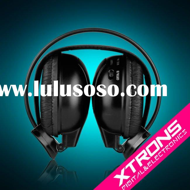DWH002: infrared wireless headphone with Dual Channels