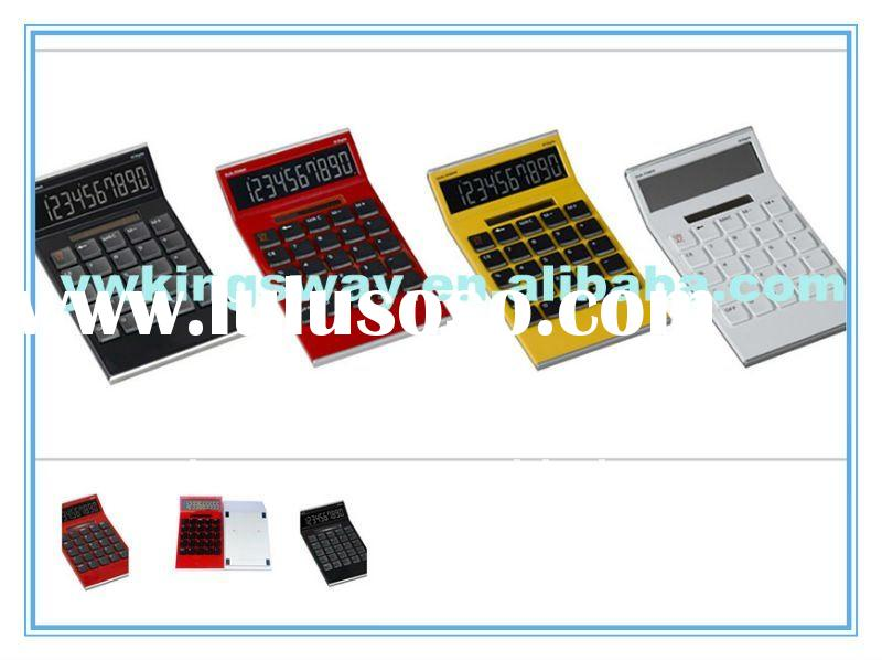 Desktop calculator/10 digital calculator/office calculator/big size desk calculator/calculator solar