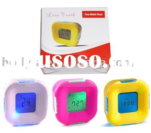 Digital LCD Alarm clock calendar thermometer