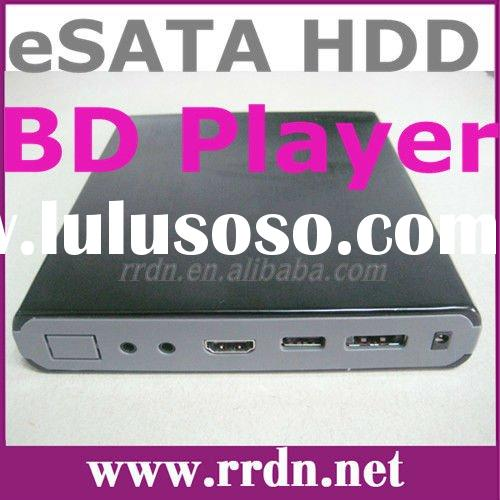 Digital bluray burner HDMI 1080P portable hdd 3d player