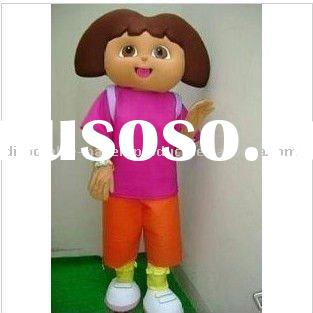 Dora the Explorer Mascot Costume, New Dora Mascot Costume, Free Shipping
