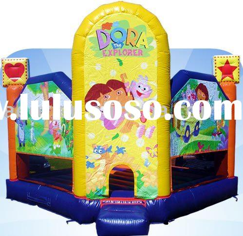 Dora the Explorer inflatable bouncer/