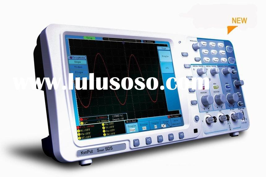 Dual Digital Storage Oscilloscope 8'' TFT LCD Display Portable/300MHz/SDS8302