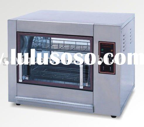 Electric Rotisserie with Stainless Steel Body