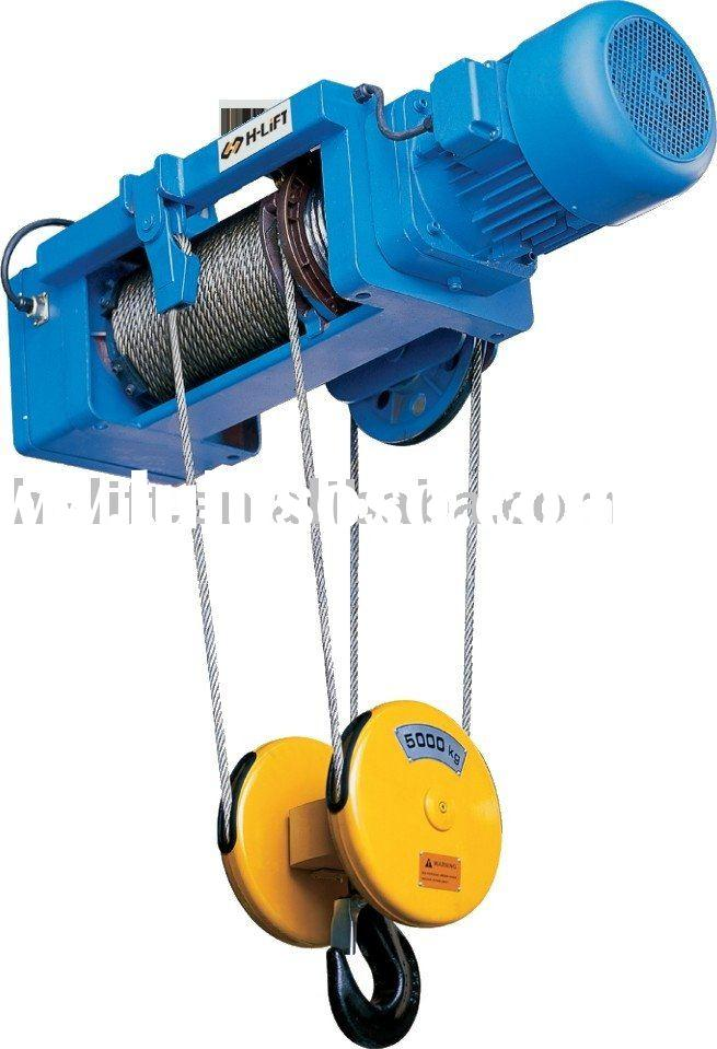 Electric Wire Rope Hoist WHF-C Type