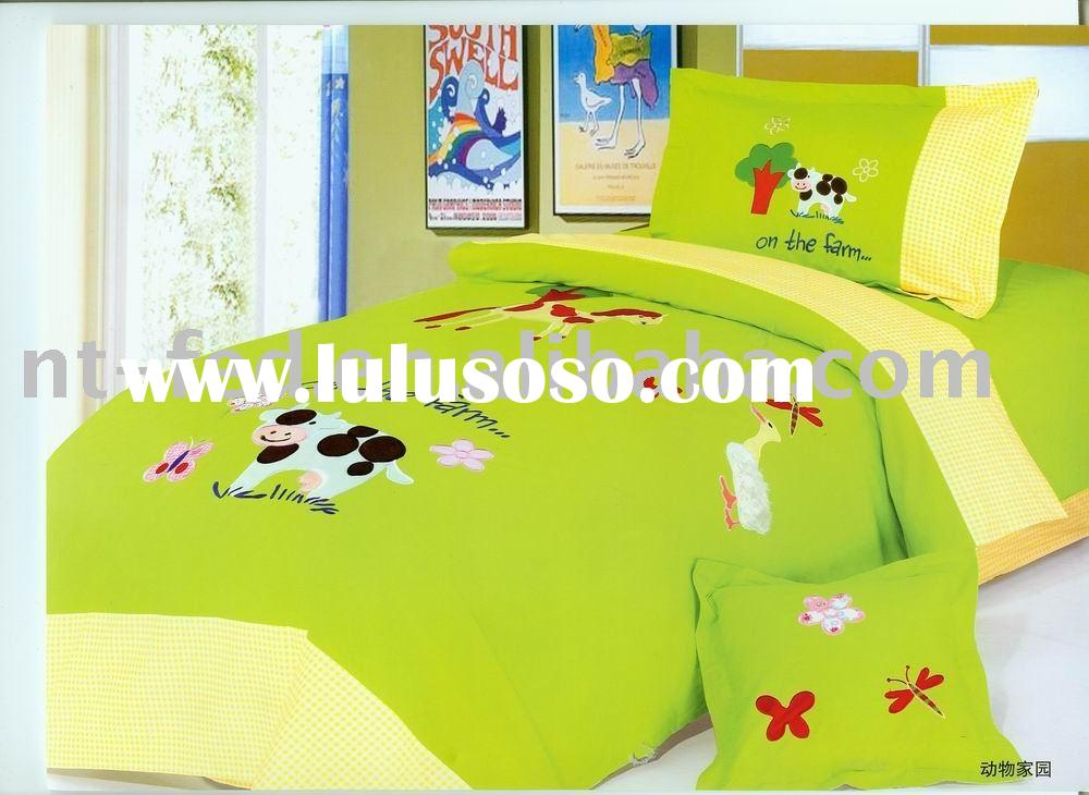 Embroidery Children's and Kids' Bedding Sets