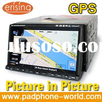 "Erisin 7"" HD 7 Inch 2 din GPS Car DVD Player Touch Screen TV Radio SD USB Sat.Nav"