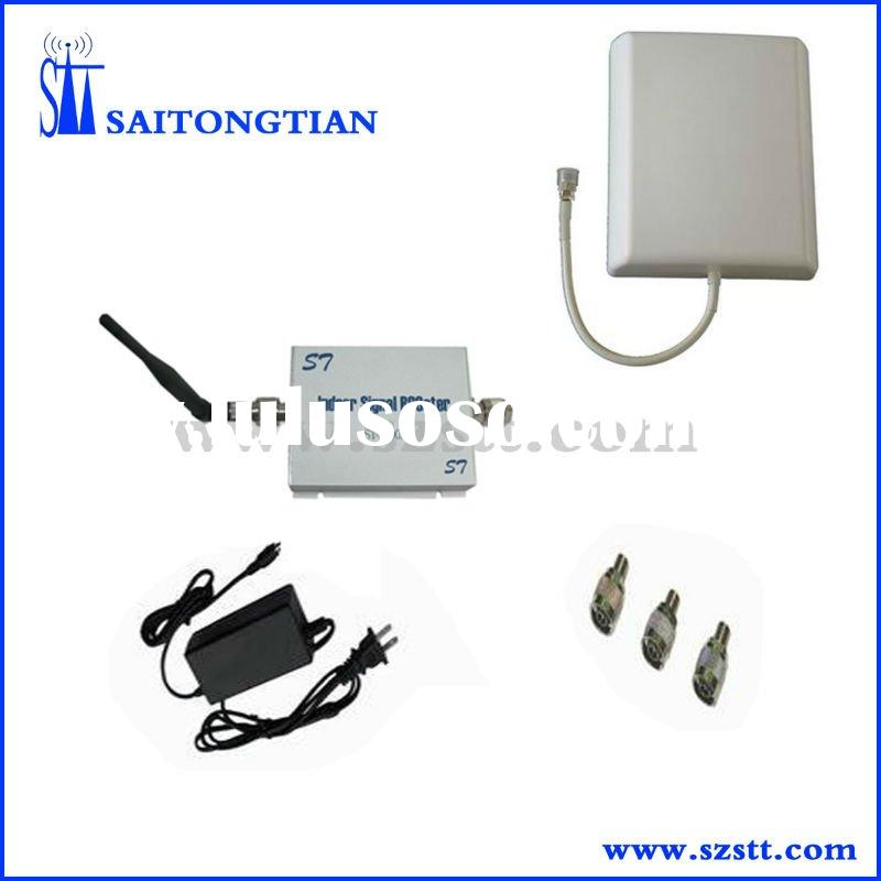 FREE SHIPPING Dual band mobile phone repeater for CDMA850MHz&PCS1900MHz coverage 2000sqm