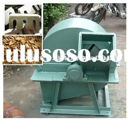 Finely processed wood chipper shredder