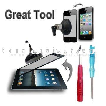 For iPad Touch Screen Dismantle Repair Tool Kits with T4 Pentagon Screwdrivers