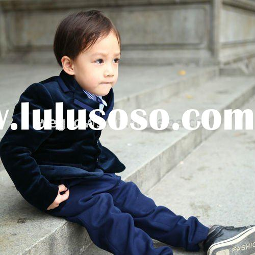 Formal black Korean style boys coat,child clothing