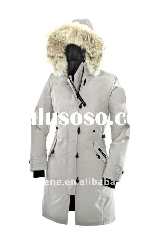 Free Shipping Long Goose Down Coat For Women