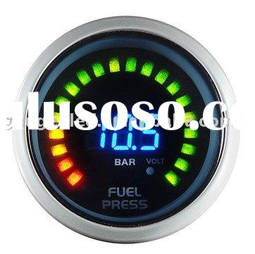 Fuel Pressure(Racing Gauge 52mm digital 2 in 1 Fuel Pressure with Volt)