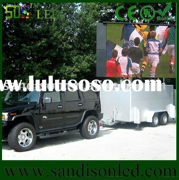 Full Color Outdoor P4-P12 Rental Truck Mobile LED Display