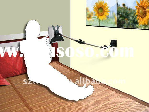 Full rotating three secton wall mount for tablet PC
