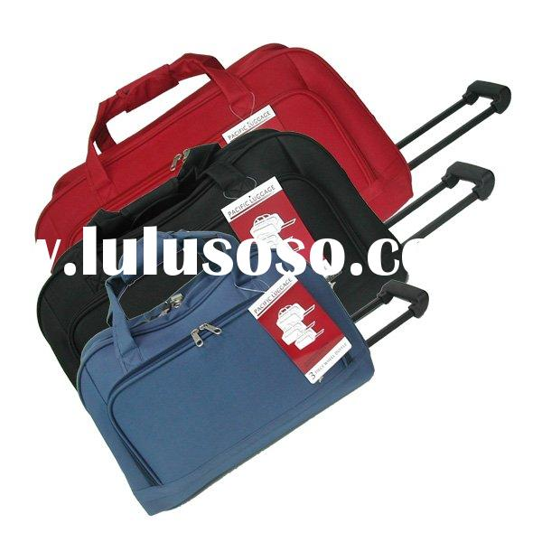 GM1085 Traveling bag with trolley rolling duffle