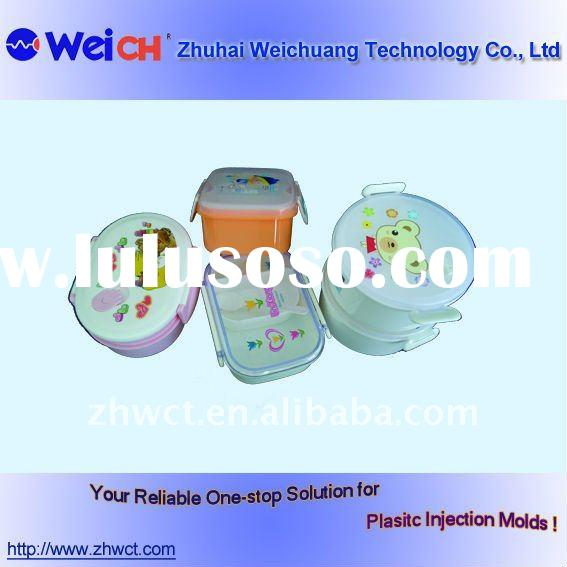 Green safe Plastic food container Mold,food container