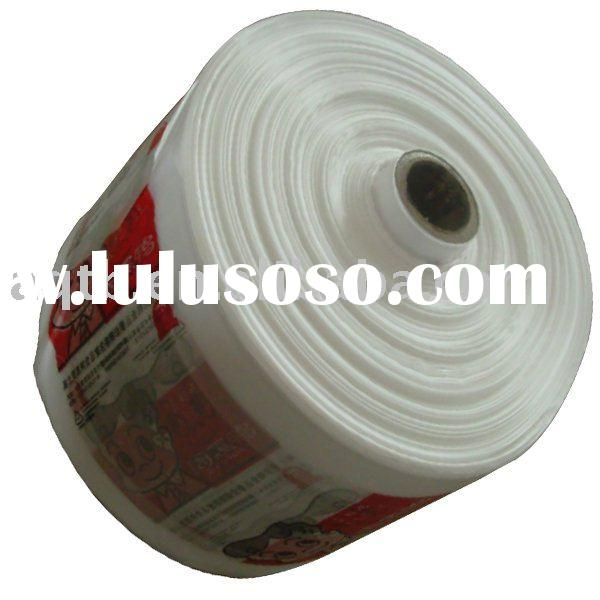 HDPE/LDPE/LLDPE coiled material for plastic bag production
