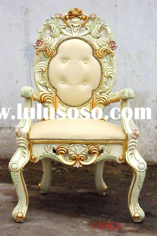 Hand carving wooden arm chairs, dining chairs, french & Euorpean style