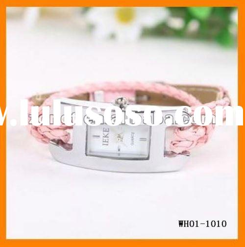 Hand-woven wrap leather rope bracelet watch Ladies Watches WH01-1010