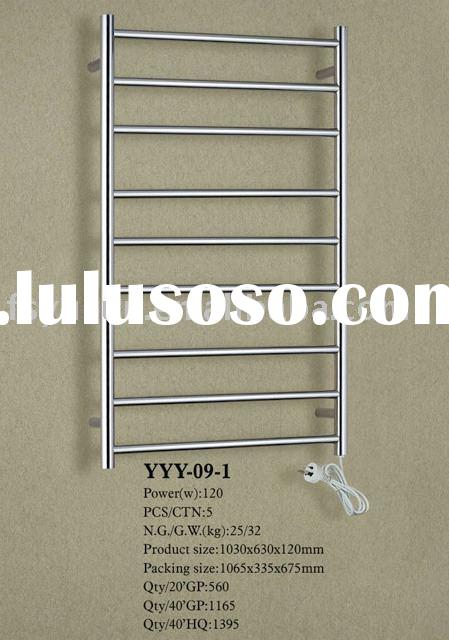 Heated towel shelf ,ladder bathroom towel rail ,stainless steel clothes bars