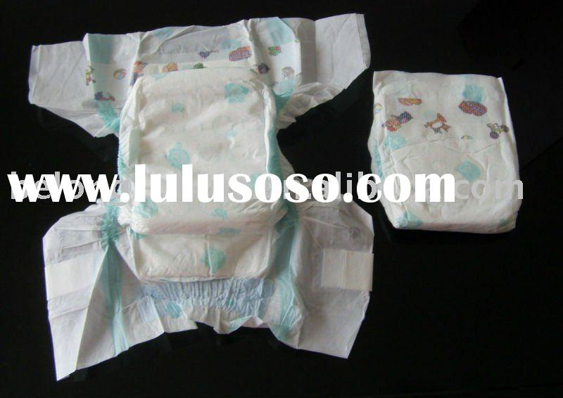 High absorbent baby diapers