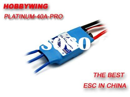 Hobbywing Platinum 40A PRO ESC Brushless Speed Controller for 400 450 Class