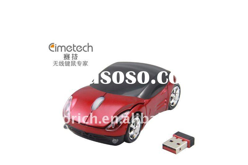 Hot Selling Fashion Wireless Racing Car Mouse