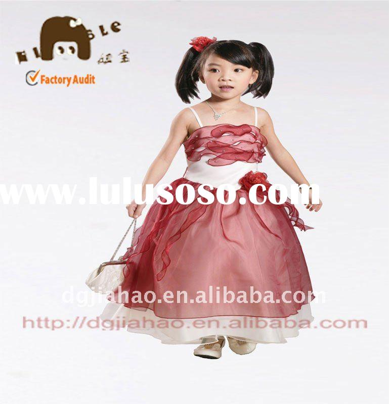 Hot lovely princess party dress for kids