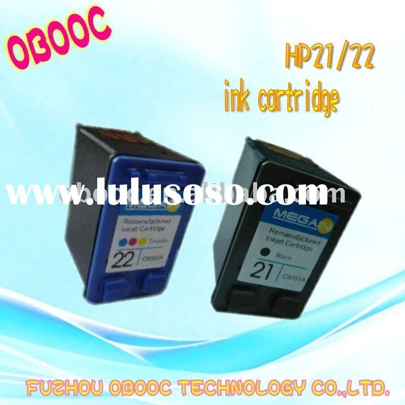 Hot sale ink cartridge for H---p 21/22