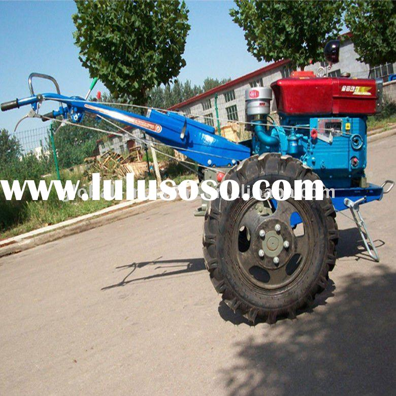 Hot sales farm machinery,walking tractor 15HP with different color