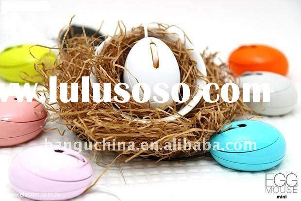 Hot sell 3d usb/ps/2 optical egg mouse