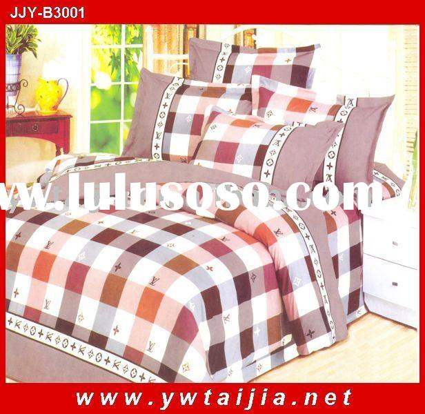 Hot selling-latest design polyester 4pcs bedding sets