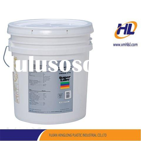 IML plastic oil container with advanced in mould lagbel technology