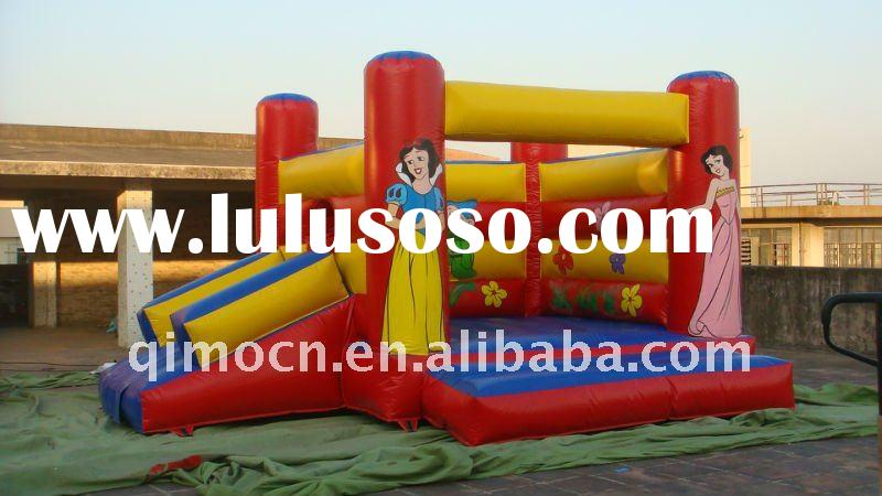 In Stock 16ftx13ft Princess Inflatable Little Bouncy House