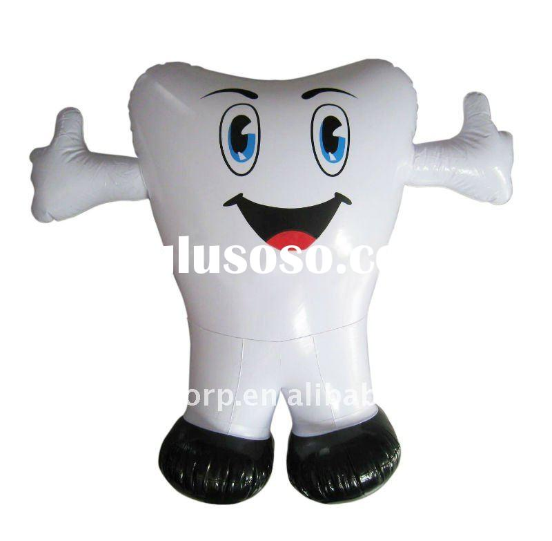 Inflatable Tooth Toy For Advertising Or Propaganda