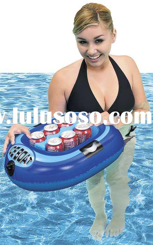 Inflatable ice boat,Inflatable float boat cooler,inflatable boat cooler,inflatable pool boat cooler