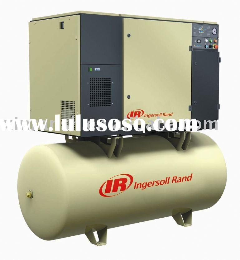 Ingersoll Rand air compressor with air dryer,4-37kW / 5-50hp