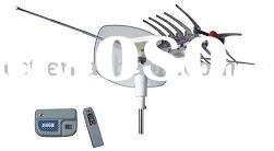 Item no. DAE-2003 Remote-Controlled Rotating Outdoor TV Antenna