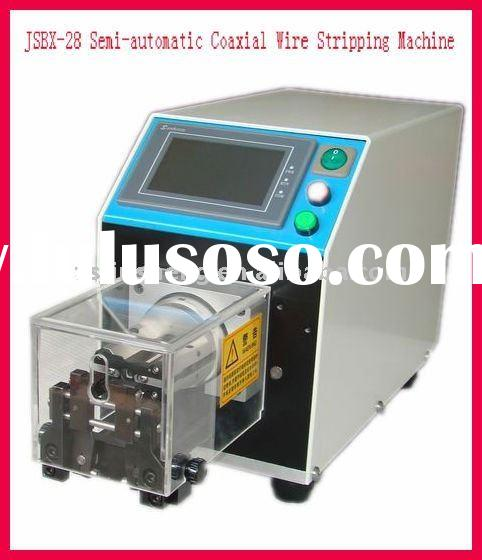JSBX-28 Semi-automatic Coaxial Cable Stripping machine (with twist function)