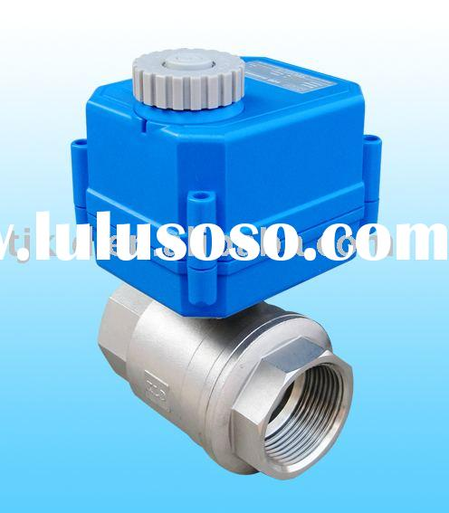 KLD100 2-Way motor actuated ball Valve for automatic control, water treatment